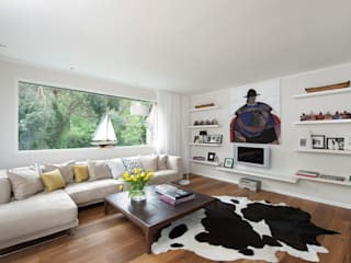 Modern living room by Cubus Projekt GmbH Modern