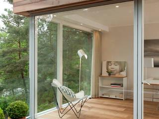 Casas de estilo moderno de Cubus Projekt GmbH Moderno