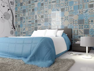 Phòng ngủ phong cách hiện đại bởi fogazza Hiện đại