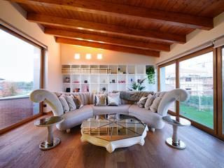 Salas de estilo moderno de Matteo Gattoni - Architetto Moderno