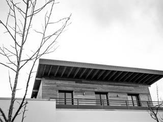 Maison à Ossature Bois - M.O.B.:  de style  par ORCH_IDEA