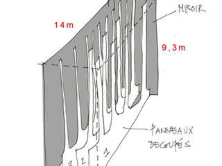 CONSTRUCTION DE LA CHAUFFERIE BIOMASSE BOISMARINE ET INTEGRATION URBAINE Bureau moderne par Architecte en construction Moderne