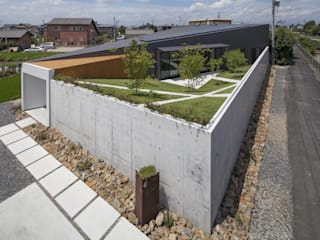 Secret Garden bandesign Modern houses