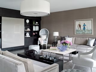 Living Room:   by Taylor Howes Design