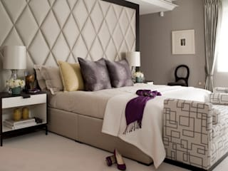 Master bedroom:   by Taylor Howes Design