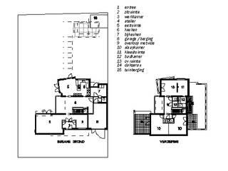 plattegronden:  Huizen door PHOENIX, architectuur en stedebouw