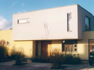 woonhuis in Valkenswaard Moderne huizen van PHOENIX, architectuur en stedebouw Modern