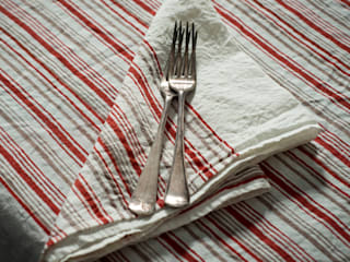 Hand block printed napkins:   by AllÓRA
