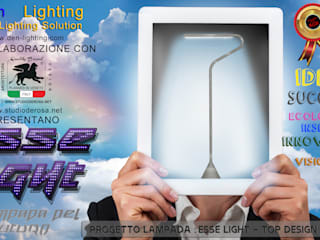 ESSE LIGHT - LA LAMPADA DEL FUTURO PROGETTATA DA STUDIO DE ROSA di Studio De Rosa Moderno