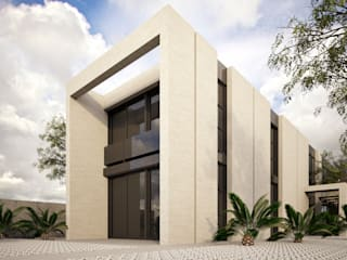 RESIDENTIAL HOUSE IN THE BEACH. CASTELLDEFELS de SERGIALEX.SCP Moderno