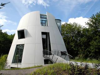 Villa Beekbergen: moderne Huizen door Factor Architecten
