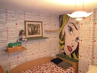 El Pop-Art de Roy Lichtenstein y otras obras de SQ-Decoración Moderno