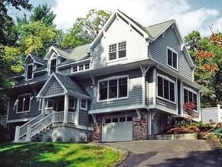 The Grey Hillside House Schema Studio Limited Rumah: Ide desain interior, inspirasi & gambar