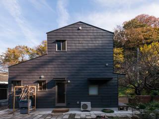 カマクラのイエ 日本家屋・アジアの家 の 白子秀隆建築設計事務所 和風