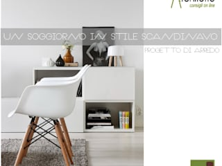 Living room by dettagli, Scandinavian