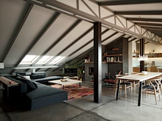 Loft Conversion In Nisantasi by FLAT C/ ARCHITECTURE Сучасний