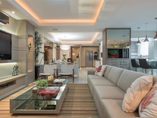 Lar de verão para unir a familia: Casas  por Actual Design,Moderno