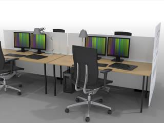 Arbeitstisch: modern  von Squaring,Modern