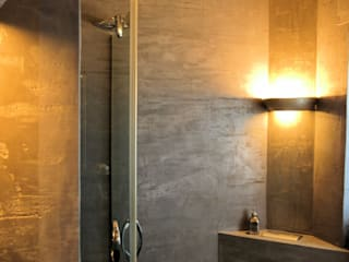 Eclectic style bathroom by Wandmanufaktur Eclectic