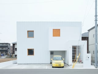 Trapezium House: Kichi Architectural Designが手掛けた家です。,
