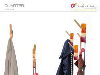 Quarter: Ingresso, Corridoio & Scale in stile in stile Moderno di Ricambi Originali