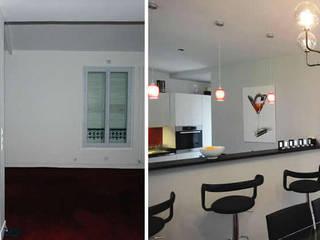 Maison de ville 6 pièces 180m2 par Créateurs d'intérieur Bordeaux