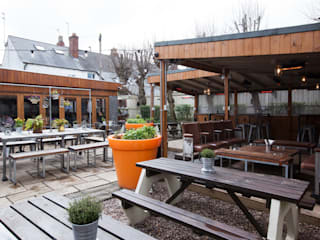 THe Plough Harborne - Garden Area:   by Spencer Swinden