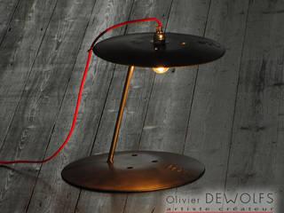 Luminaires par Olivier Dewolfs Industriel