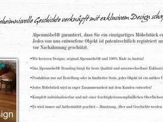 Tradition & Design schaffen bleibende Werte! von Alpenmöbel® - Design trifft Geschichte Landhaus