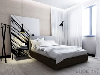 Modern Bedroom by STUDIO MAC Modern