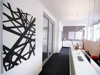 Umbau zum Büroloft Geschäftsräume & Stores von Inka Ott Innenarchitektur
