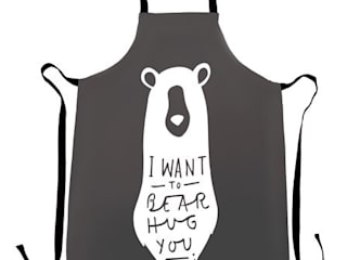Bear Hug Apron:   by Old English Company