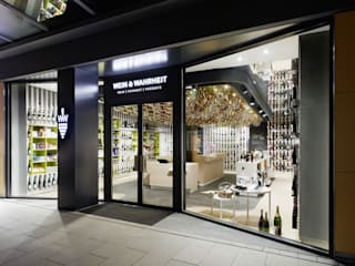 Wein & Wahrheit Ippolito Fleitz Group – Identity Architects Commercial space