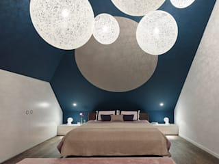 Loft ESN Modern style bedroom by Ippolito Fleitz Group – Identity Architects Modern