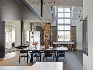 Loft ESN Ippolito Fleitz Group – Identity Architects Modern dining room