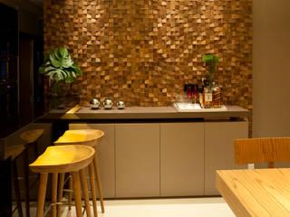 Leles Arquitetura e Iluminação Livings de estilo moderno