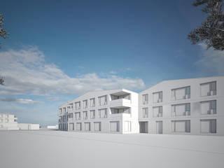 Perspectives concours d'architecture en Suisse par Vizion Studio Rural