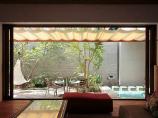 深沢S邸 モダンな庭 の 遠藤誠建築設計事務所(MAKOTO ENDO ARCHITECTS) モダン