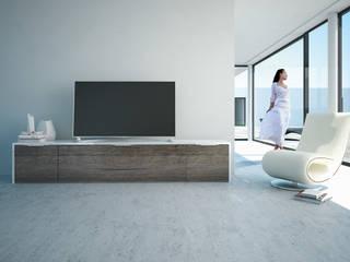 TV-Möbel mit viel Stauraum:   von Schnepel GmbH & Co. KG
