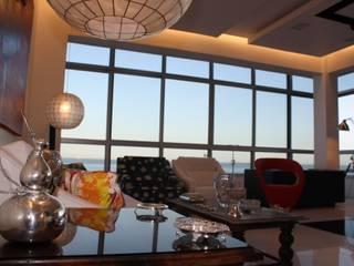 Salon de style  par Leles Arquitetura e Iluminação,