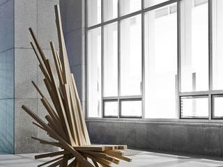 Livings de estilo moderno de lee3woong studio Moderno