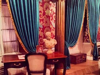 Habitación en casa antigua Dormitorios de estilo clásico de Matices, decoración y pinturas S.L. Clásico
