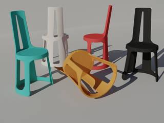 La chaise A par Margot Crosland Moderne