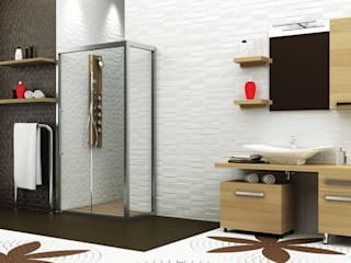 MAESTA BATHROOM FURNITURE – BELLEZZA -MAESTA BATHROOMS: modern tarz , Modern
