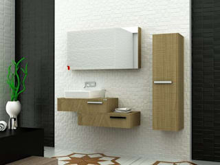 MAESTA BATHROOM FURNITURE – RAUCO - MAESTA BATHROOMS: modern tarz , Modern
