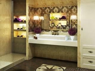 Salle de bain par студия Design3F