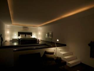 Casa Geniol - Punta de la Mona Dormitorios de estilo moderno de SH asociados - arquitectura y diseño Moderno