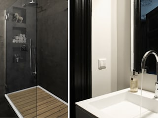 Bathroom by choc studio interieur, Asian