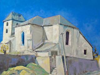 L'église de Bussière Galant:  de style  par Atelier d'artiste SYRIEX RD