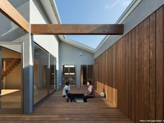 Jardines de estilo minimalista de 松岡健治一級建築士事務所 Minimalista